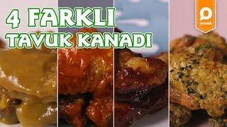 4 Farklı Tavuk Kanadı Tarifi - Onedio Yemek - Tek Malzeme Çok Tarif