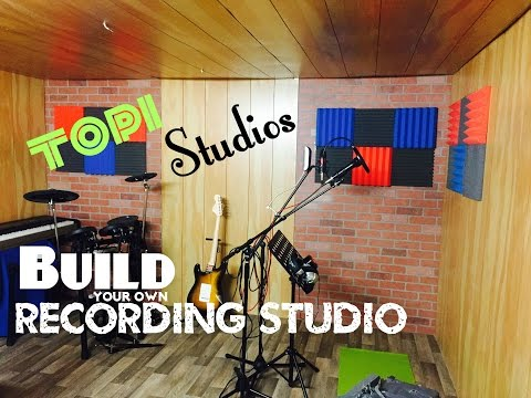 How to build your own Recording Studo