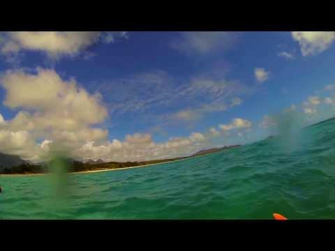 Kayaking Waimanalo Hawaii Randall & Shane Crow