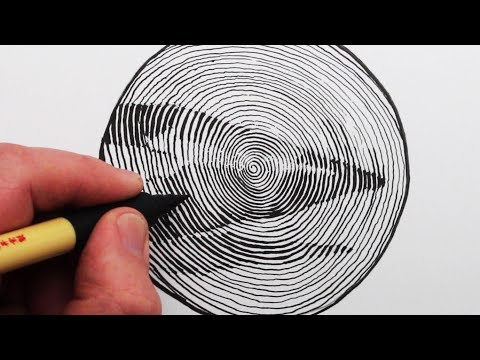 circle-line-art-school:-how-to-draw-a-continuous-spiral-pencil