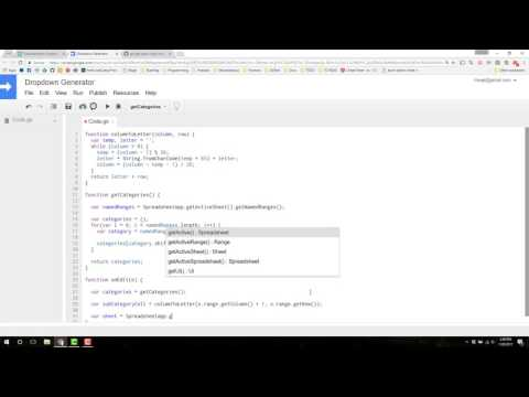 How to modify a datavalidation box with Google Apps Script