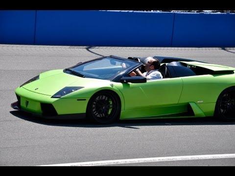 Twin Turbo Lamborghini Murcielago Roadster Youtube