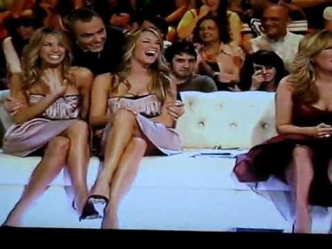 gemelas Patricia y Carolina Jané en programas de t...