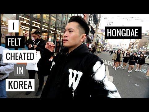 Hàn Quốc Như Một 'Củ Nghệ' | Exploring Street Food & Street Style at Hongdae, Korea