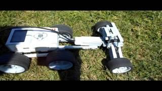 Лего техник + Ev3 обучение машиностроению урок 2 Задний мост