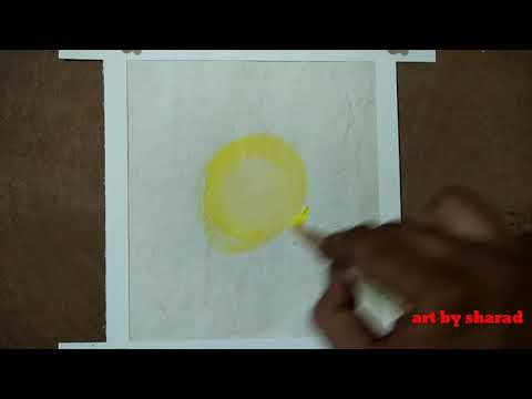 How to make very easy landscape # painting