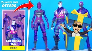 * GET THE NEW FORTNITE DARK LEGEND PACKET FOR FREE! * PRIZES
