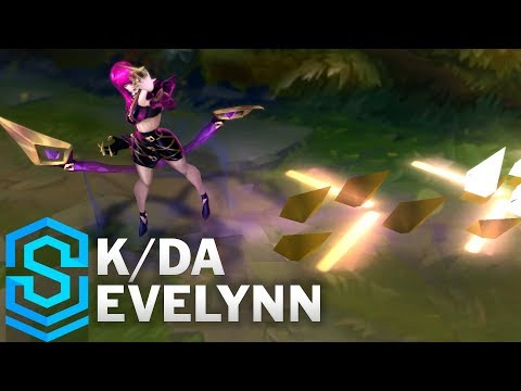K/DA Evelynn Skin Spotlight - Pre-Release - League of Legends