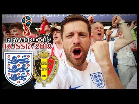 ENGLAND Vs BELGIUM! - RUSSIA WORLD CUP 2018