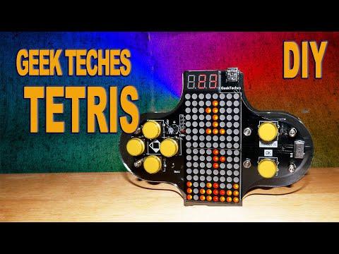 Geek Teches TETRIS GAME CONSOLE Kit V2 - DIY набор собери сам Тетрис.