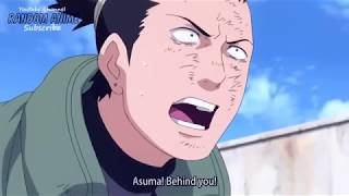Hidan Kills Asuma, His Last Words To Team 10 60FPS-Naruto Shippuden - English Subbed