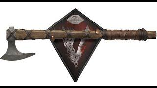 Hacha de Ragnar Lothbrok 65 cm. Edición limitada. Escala 1/1. Vikings. Shadow Cutlery