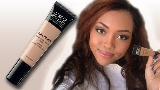 Review Makeup Forever Full Cover Concealer | CookieChipIry