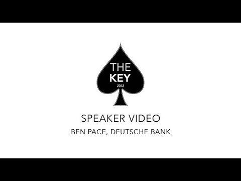The Key 2012 Real Estate Conference // Speaker  Ben Pace of  Deutsche Bank