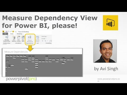 Power BI Measure Dependency View please! Vote for this Idea