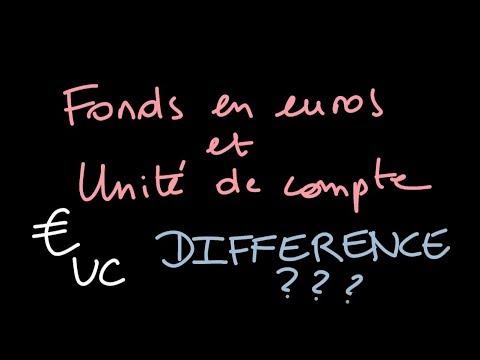 CONSTRUIRE son ASSURANCE VIE : FONDS EUROS et UNITE DE COMPTE, quelle différence?