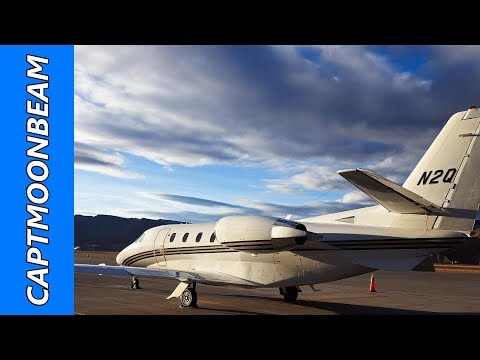 MOUNTAIN WEATHER, Flying the Cessna Citation to Eagle Colorado Pilot Vlog