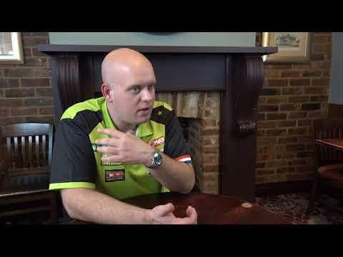 Michael Van Gerwen Talks Exclusively to the JDC