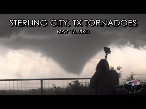 May 17, 2021 • FULL Chase Video of SW Texas Tornadoes and Hail!
