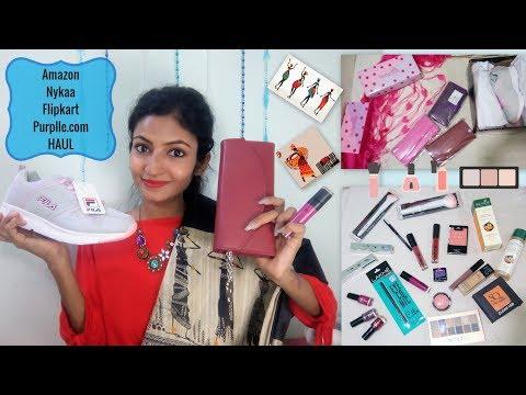 Shopping Haul || Amazon, Nykaa, Flipkart, Purplle || Its makeover tym