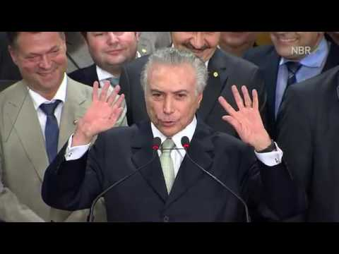 Veja o discurso da posse do presidente Michel Temer