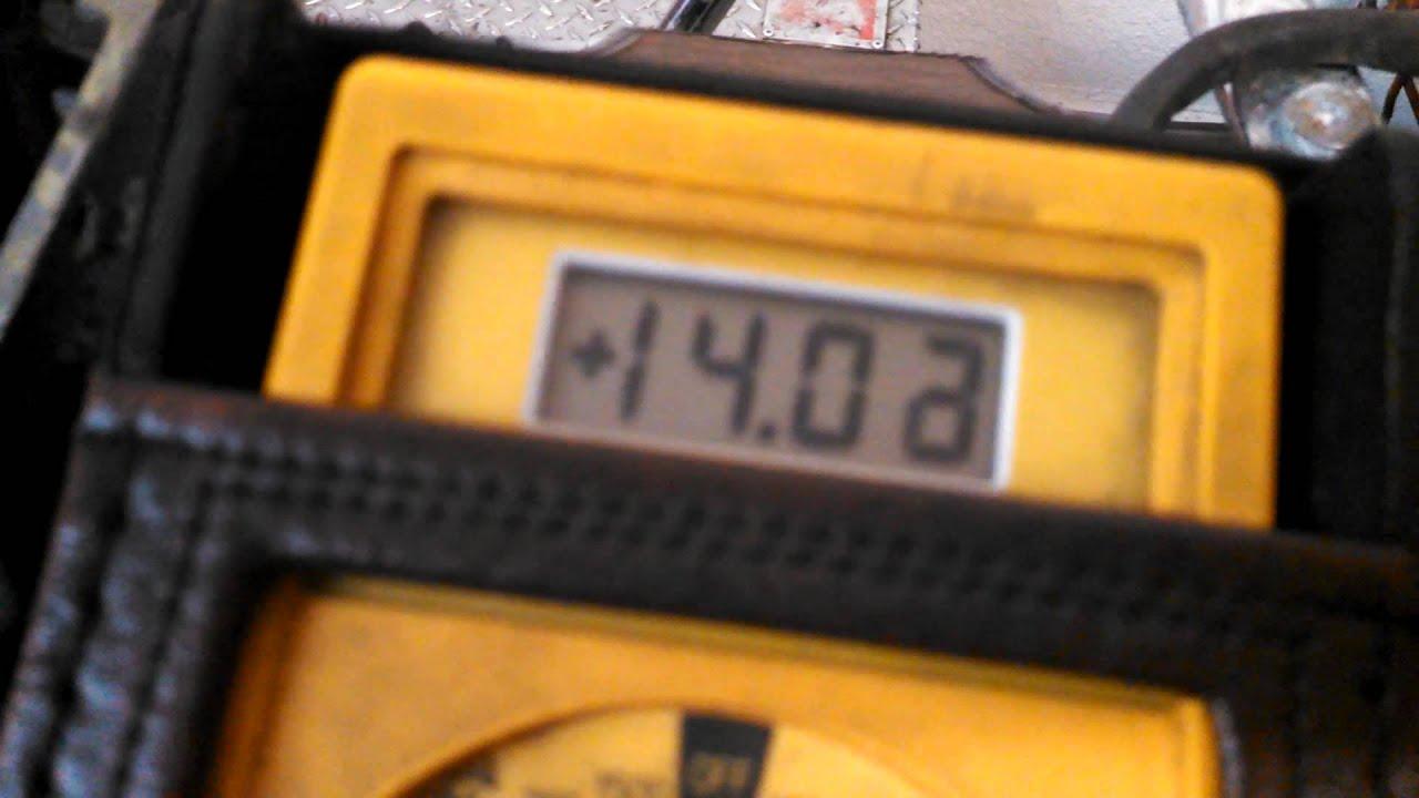 2007 Flht Voltage Regulator Test