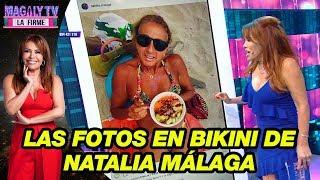 Gambar cover Así reaccionó Magaly Medina al ver las fotos en bikini de Natalia Málaga