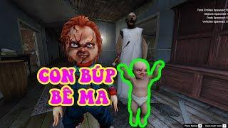 GTA 5 - Con búp bê ma Chucky đại náo nhà bà ngoại ma | GHTG