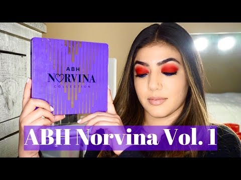 ABH Norvina Vol. 1 Palette Makeup Tutorial *Music Only* | Chantel Elona thumbnail