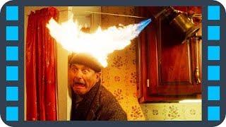 Ловушка. Паяльная лампа —  «Один дома» (1990) Сцена 9/11 QFHD