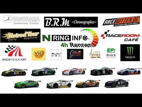 NRing Info | 3. 4h Rennen | Raceroom Cafe | 31.10.2017