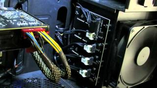 Project FSX, Part 2  (Corsair Obsidian 800D Build with i7-3970X, Sabertooth X79)