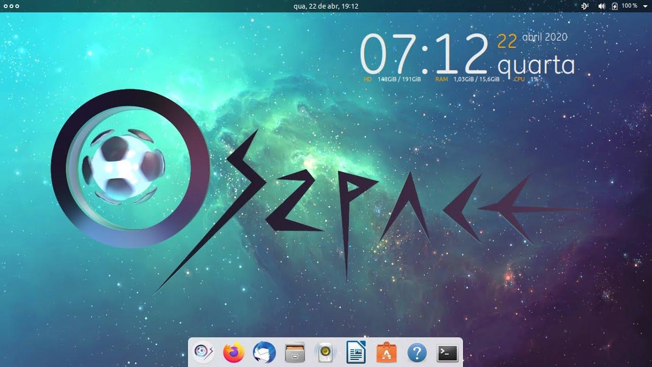 WhiteHorse  a perola digital e como  instalar o OSzpace WhiteHorse e um amigável review dele também!
