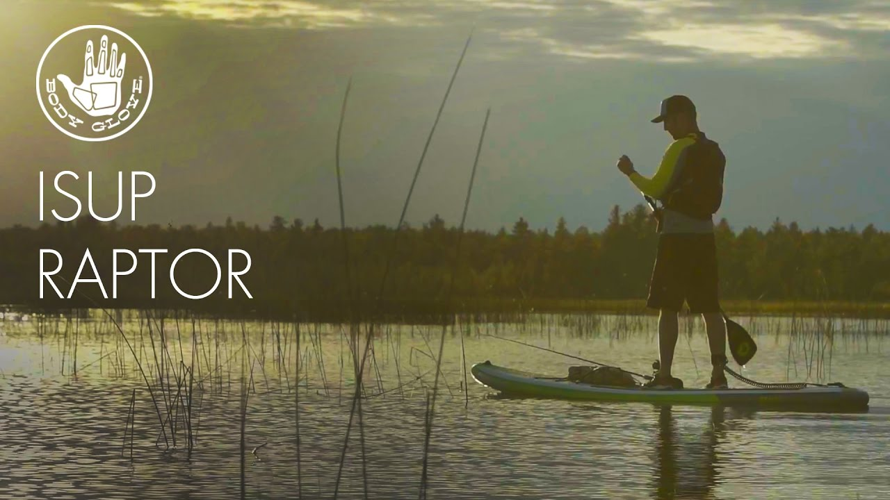 ab0746f94c90 Body Glove RAPTOR 10 8   Inflatable Stand Up Paddleboard - YouTube