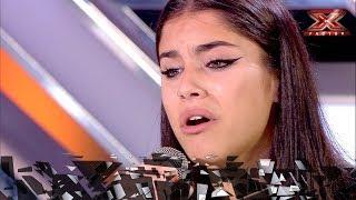 Con solo 16 años emociona al jurado a ritmo de Christina Aguilera | Inéditos | Factor X 2018