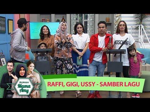 Seru Abis!! Nagita Slavina, Ussy, Raffi Main Games Samber Lagu  - Rumah Mama Amy (12/7)