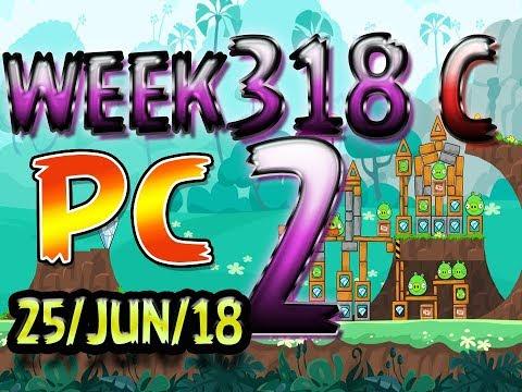 Angry Birds Friends Tournament Level 2 Week 318-C PC Highscore POWER-UP walkthrough