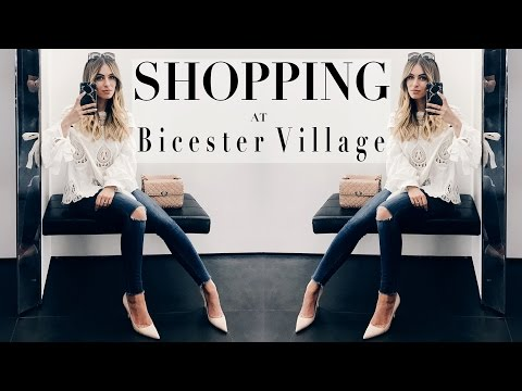 DISCOUNT DESIGNER OUTLET COME SHOPPING WITH ME  | Lydia Elise Millen