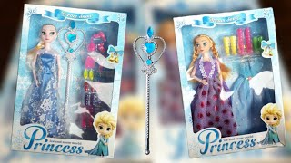 || NEW ❄️LATEST ☃️FROZEN⛄ ELSA, ANNA 💎PRINCESS || REVIEW AND UNBOXING || INDIAN TOY STORE ||