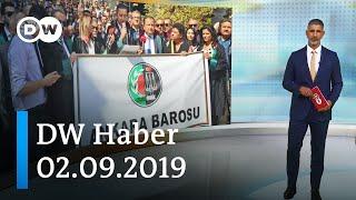 DW Haber: Yeni adli yıl boykotlarla açıldı (02.09.2019) - DW Türkçe