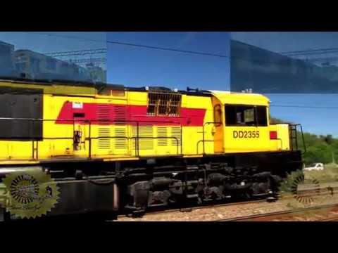 Rovos Rail's Luxury Train pulled by Ex-Queensland Diesels
