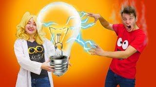 Уроки физики: что за Катушка Теслы? Опыты по физике для крутых ученых! Видео про Блондинку. Научпоп