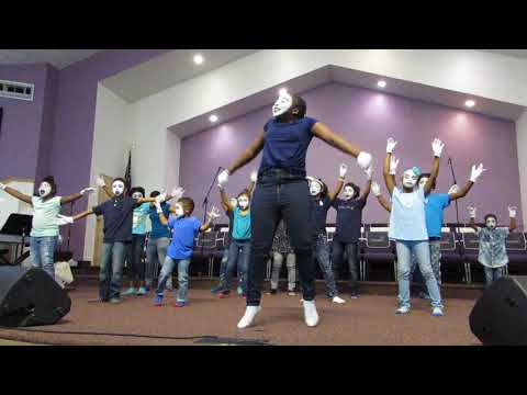 New Generation Mime Ministering Tasha Cobbs' You Know My Name.