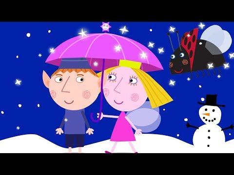 Ben y Holly ❄️ Ben Y Holly Nieve! ❄️Ben y Holly Navidad   Dibujos Animados