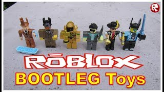 ROBLOX Bootleg action figure set | Fake Roblox | Bootleg Roblox 6 Figure set | LEGENDS OF ROBLOX