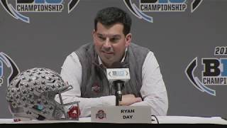 Ryan Day: Ohio State prepares for Big Ten Championship game against Wisconsin