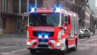 [MASSIVER BULLHORN & PRESSLUFT EINSATZ] Feuerwehr (BF) Frankfurt/Main (HD)