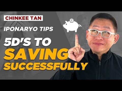 Iponaryo Tips: 5Ds to SAVING Successfully