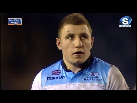 Duncan Weir Penalty 4 Edinburgh v Glasgow Warriors 26th December 2013