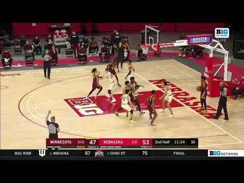 Gophers' Marcus Carr: 41 Points vs. Nebraska Cornhuskers